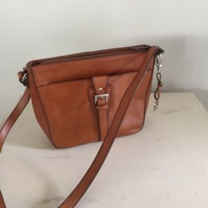 New Brown Eitenne Aigner purse leather